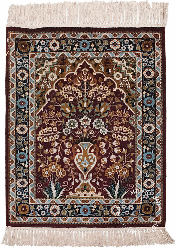 Indian Kashmir 2x2 Rug