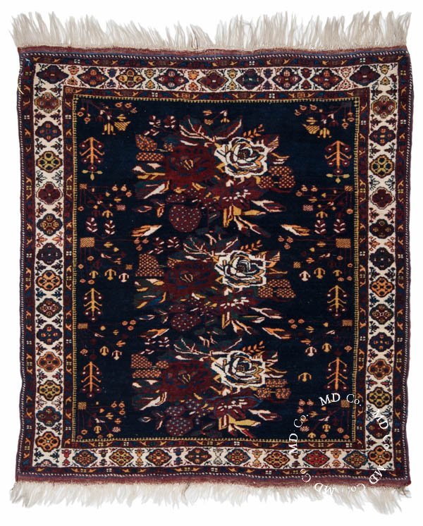 Persian Shiraz 3x4 Square Rug