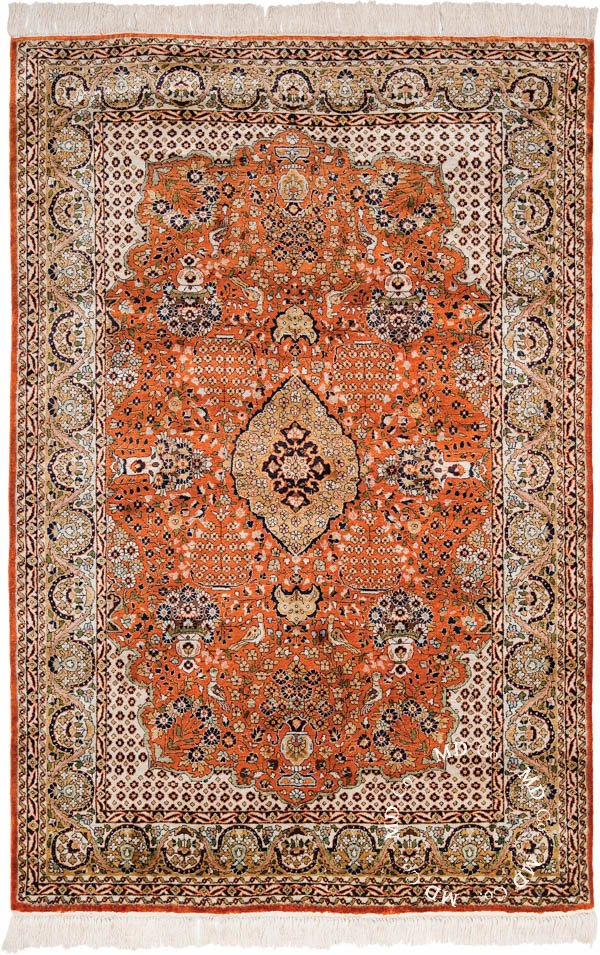 Indian Kashmir 4x6 Rug