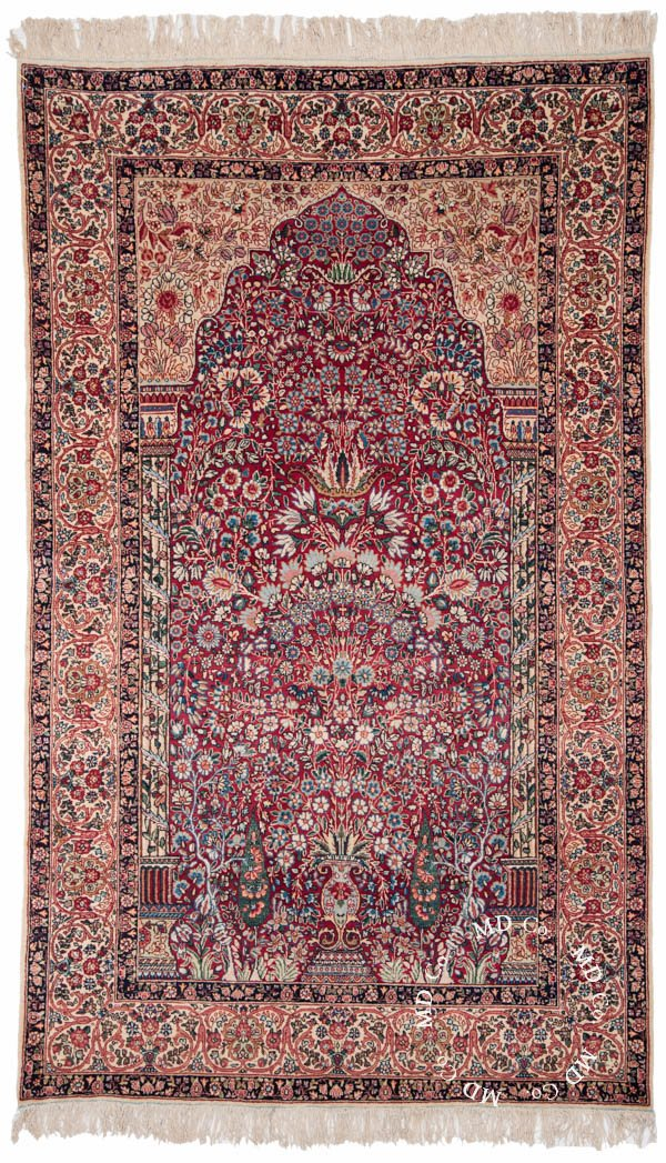 47 Persian Kerman Rug Collector Rugs From Dilmaghani